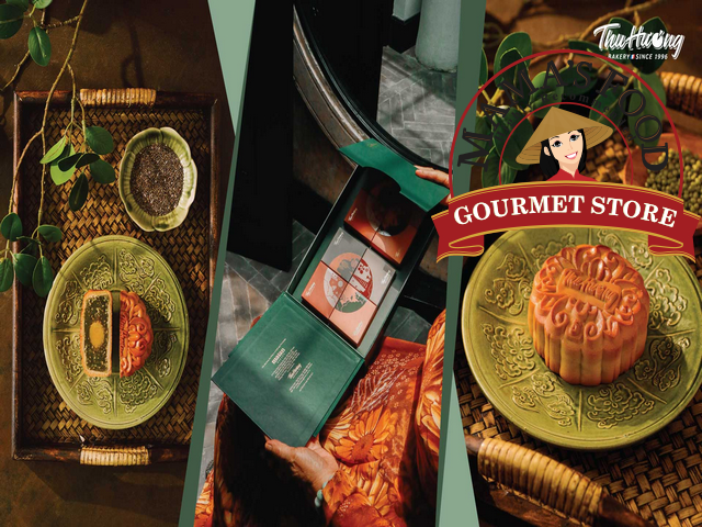 các thương hiệu bánh trung thu nổi tiếng thu hương
