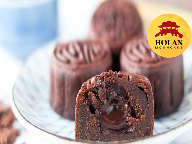 làm bánh trung thu lava chocolate
