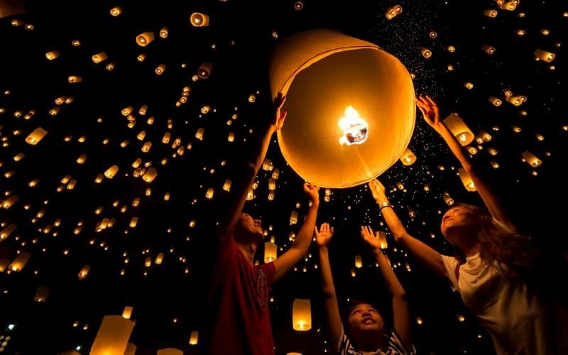 lễ hội đêm trăng rằm trung thu
