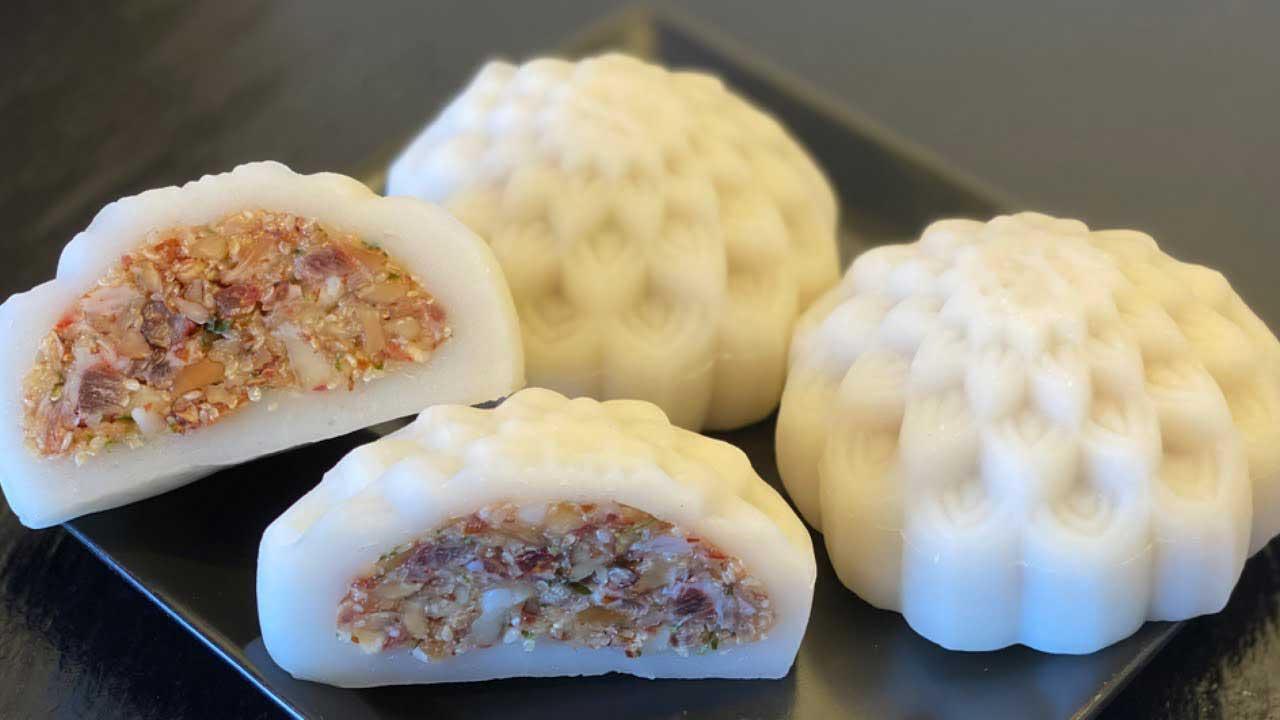 hướng dẫn cách làm bánh dẻo nhân thập cẩm