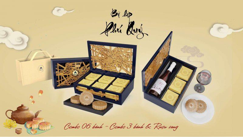 Hộp Bánh Trung Thu Phú Quý
