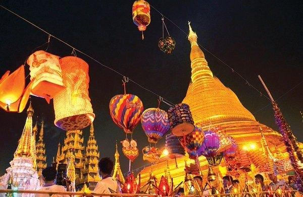 Tết trung thu ở Myanmar